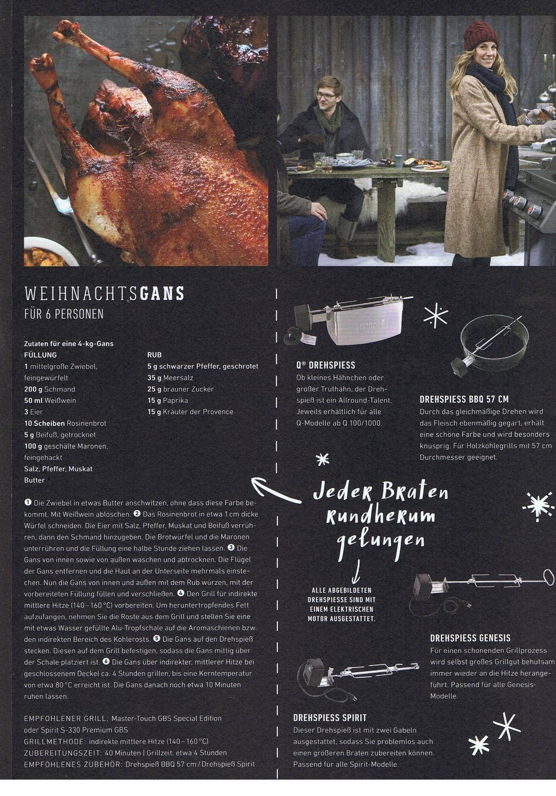 Freelance Konzept U0026 Text Sascha Weinand   Arbeiten U2013 Weber Grill Broschüre  Wintergrillen